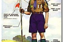 Scouts -partiolaisia