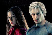 Wanda & Pietro / Los hermanos Maximoff -Avengers, Age of Ultron.