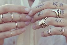 Just...Hand Tattoos I Adore (and little feet too!)