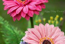 Blumen häkeln