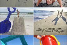 Beach fun photos