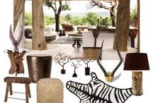 Bydlení v africkém stylu