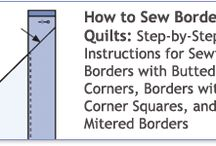 How To / Quilting hints