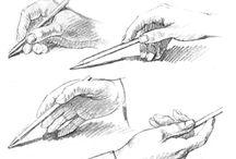 Kresby tužkou návod