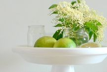 Torta fiori di sambuco