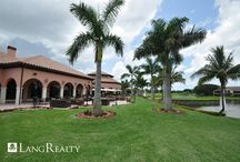 Country Club Communities / Lang Realty is the preferred real estate company for many of South Florida's premier golf and country club communities.