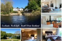 Lochside, Rockcliffe, South West Scotland / Lochside, Rockcliffe, South West Scotland Sleeps 10 / 14 HOT TUB, wood burning stove This stunning 5* luxurious cottage sits on the banks of the loch, with private HOT TUB, a Garden Apartment for additional guests and use of the boathouse. Furnished and equipped to cater for your every need and with a variety of activities within a short drive you will long to return year after year once you have discovered this gem of a cottage.