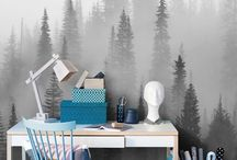 Forest wallpaper murals / A green forest has a calming effect on practically everyone. Unfortunately not all of us have a forest on the doorstep. But now you can live surrounded by woodland – in the centre of town! Even if you live in the heart of the city, photo wallpaper with a forest theme can turn your home into a true haven.