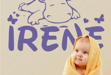 DECORACIÓN INFANTIL / Colección de vinilos decorativos infantiles.Consejos, ideas, novedades y mucho más para ayudarte a decorar la habitación de los pequeños de la casa.