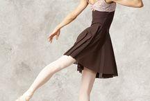 Ballet dancer in red