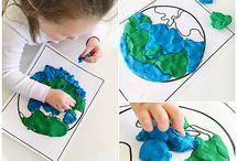 playdough earth