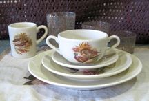 We are ready for the Fall!!! / Small game hunting tableware.