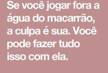 MASSAS MACARRÃO