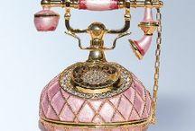 Telefony / Vše o telefonech historických,luxusních i atrapách s kouzelným vzhledem