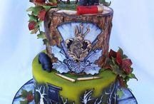 vadászos torta