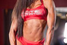 MUJERES FUERTES. / Es impresionante como el cuerpo de una linda mujer puede desarrollar tal musculatura..!!!