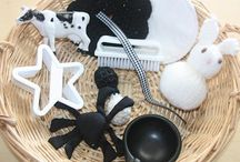 Black and white baby ideas