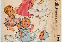 dolls clothes, patterns, ideas, acessories