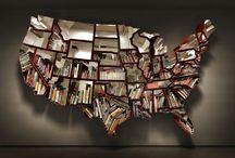 wall art ideas / by Heather Dabe