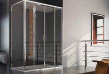Box doccia Acqua in alluminio anodizzato