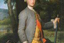 Hombres vestidos, España s.XVIII