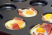 recetas horno y huevo