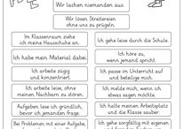 Classroom Rules-Klassenregeln