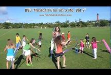 Action Songs for Kids. Move and learn! / Watch your children dance, sing and learn to Miss Patty's music.  http://www.youtube.com/pattyshukla