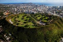 Oahu Landmarks / Enjoy a few past and present landmarks on Oahu. #diamondheadluau