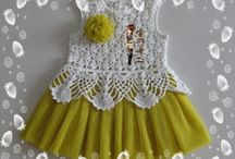 Children's crochet items