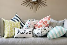 Pillows, Throws and Rugs / Want to jazz up your home? Accessorize your home with these three simple things!