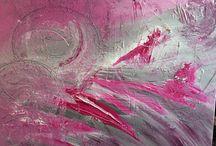 Mina abstrakta tavlor