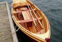 WOODEN ROW BOATS