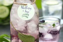 Infused water bottle recipes