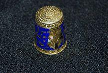 thimbles / частная коллекция наперстков из разных уголков мира/   private collection of thimbles from around the world