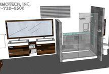 BATHROOM: 6x17 / FREE BATHROOMS DESIGNS  marmotechpr@gmail.com or Marmotech, Inc in facebook