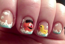 TV & Movie Characters Nail Art / by Rose Stumbaugh
