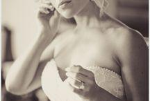 Wedding - bride before