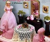 plastic and other doll furniture for barbie / by nancy harris