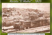 Revista O Malho - Imagens Antigas / Imagens Antigas da Revista O Malho do Rio de Janeiro