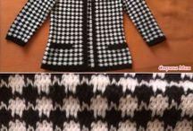 свитер  вязаный спиц.