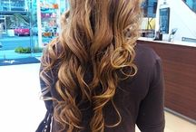 Hairdressing and girls fashion