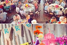 Summer Wedding 'The Look' / Wedding moodboard for the overall visual- our colourful, outdoor fairytale midsummer soiree.