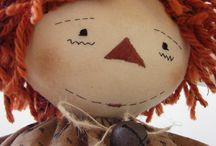 Fabric's dolls