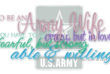 Being an army wife....love my ranger  / Being an Army Wife  / by Brigitte Dahle