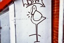 Listen artist / A street artist from Montreal