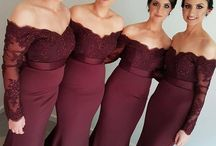 Bridesmaids dresses long