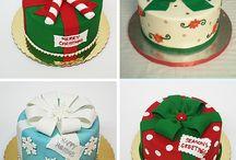 Kerst gebak / Kersttaart