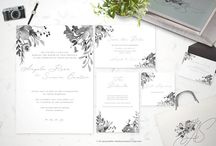 The Spring Rabbit / www.thespringrabbit.com  Wedding Stationery and Invitation Sets - Printable Wedding Invitations - Print at home invites