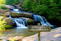 Go Chasing Waterfalls / Waterfalls that are in Oconee County, SC.